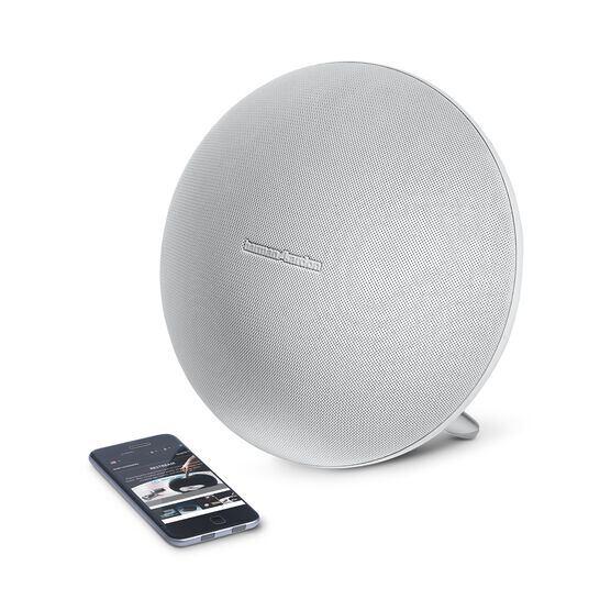 Onyx Studio 3 - White - Portable Bluetooth Speaker - Detailshot 1