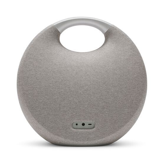 Onyx Studio 5 - Grey - Portable Bluetooth Speaker - Back