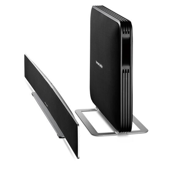 Sabre SB 35 - Black - Devastatingly slim home entertainment soundbar with compact subwoofer. - Detailshot 1