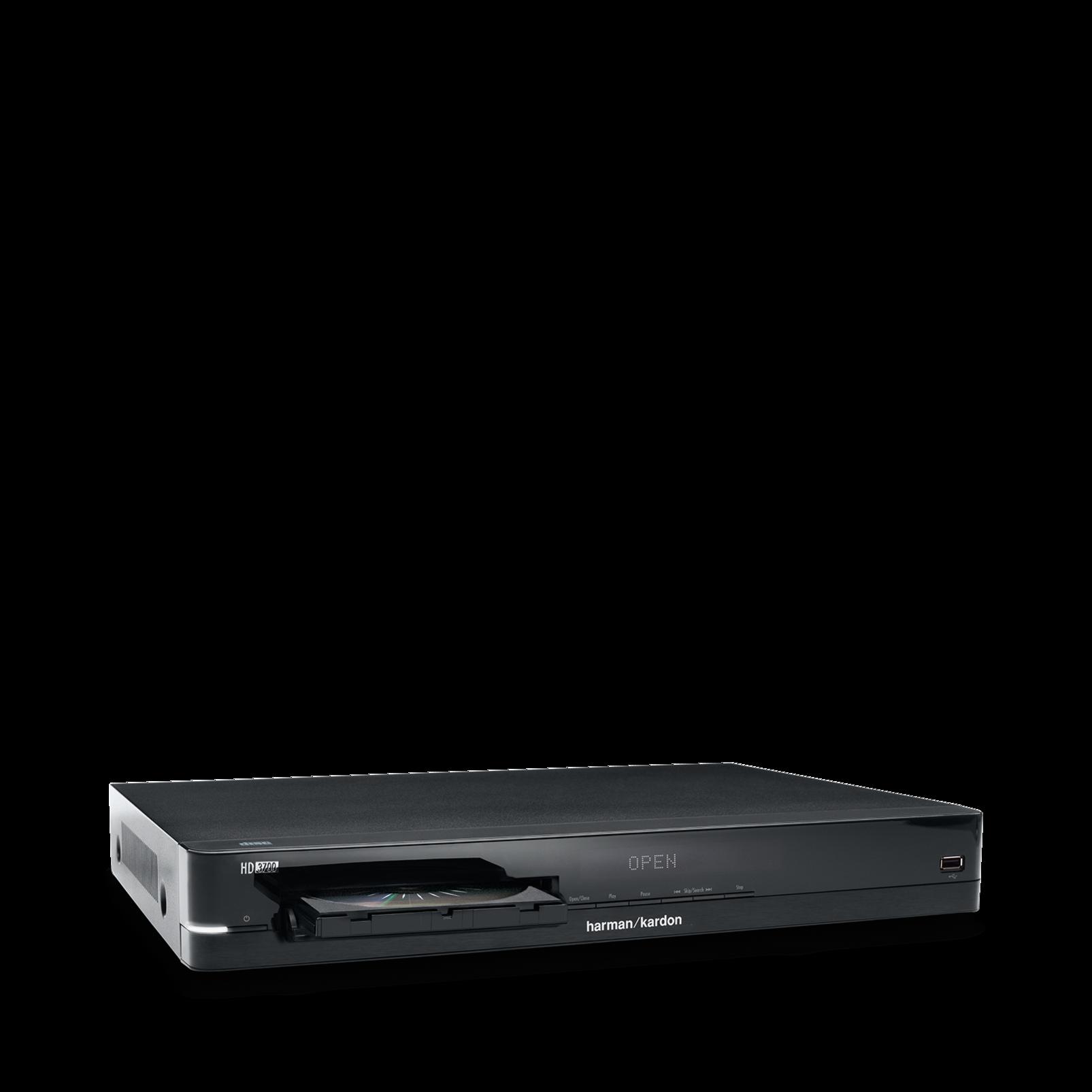 HD 3700 - Black - Hifi CD-soitin, joka on syntynyt tuottamaan kauniin äänen - Detailshot 2