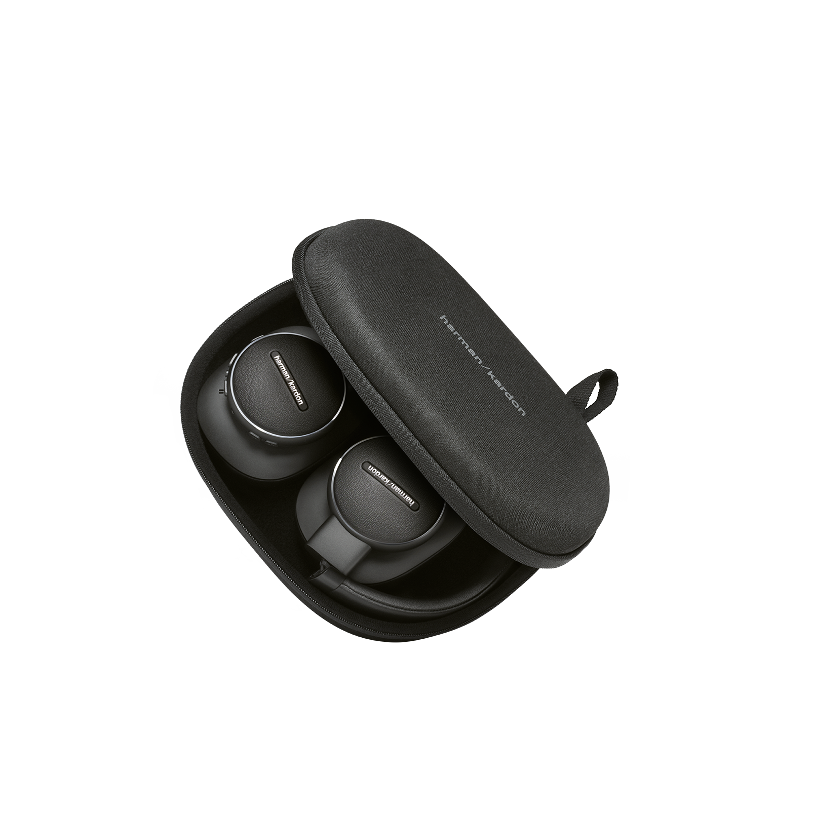 Harman Kardon FLY ANC - Black - Wireless Over-Ear NC Headphones - Detailshot 9