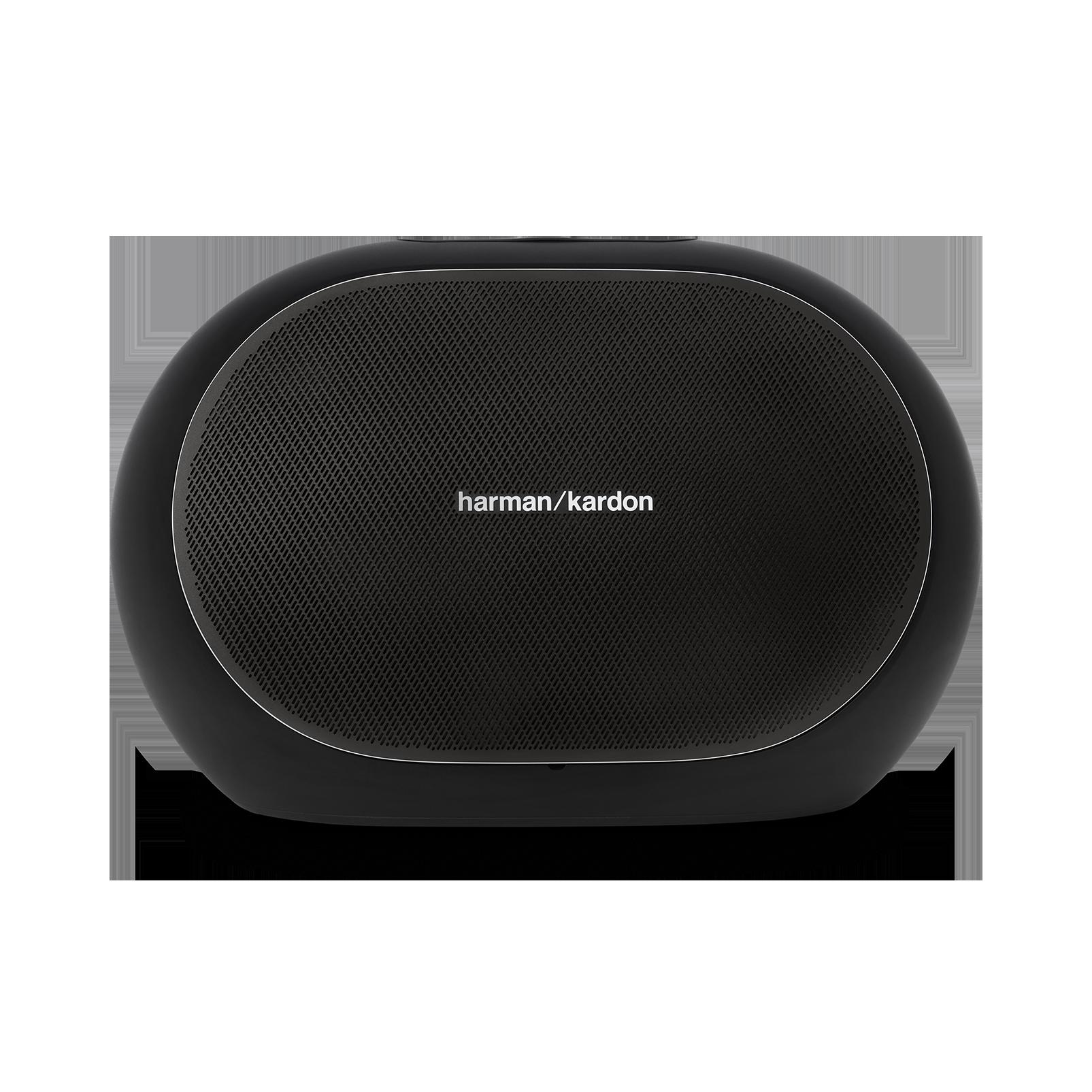 Omni 50+ - Black - Wireless HD Indoor/Outdoor speaker with rechargeable battery - Front