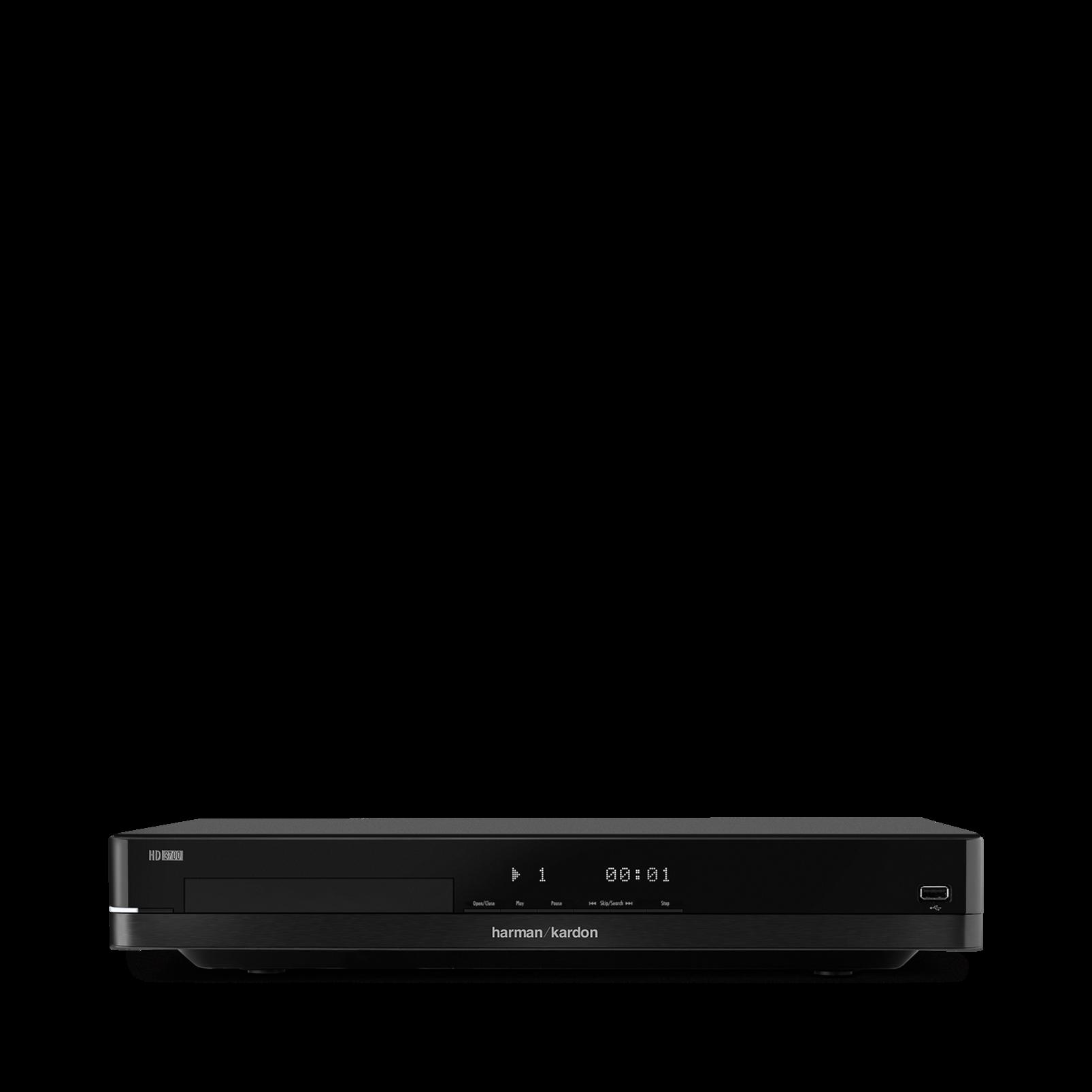 HD 3700 - Black - Hifi CD-soitin, joka on syntynyt tuottamaan kauniin äänen - Detailshot 1