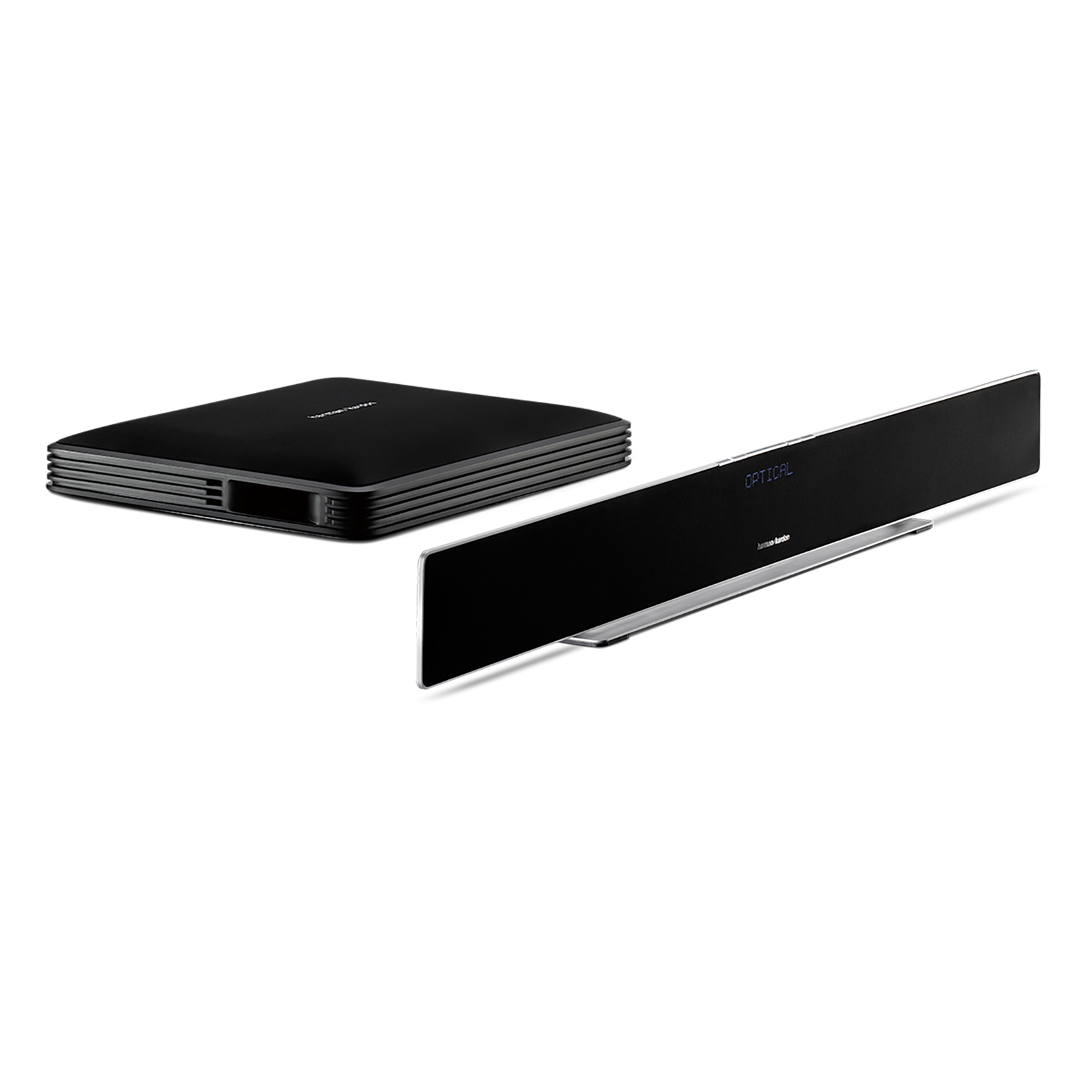 Sabre SB 35 - Black Ash - Devastatingly slim home entertainment soundbar with compact subwoofer. - Detailshot 2