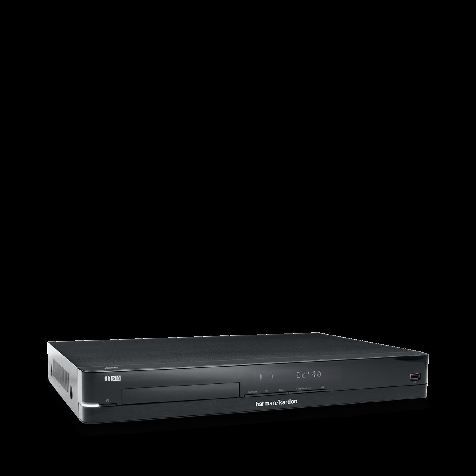 HD 3700 - Black - Hifi CD-soitin, joka on syntynyt tuottamaan kauniin äänen - Hero
